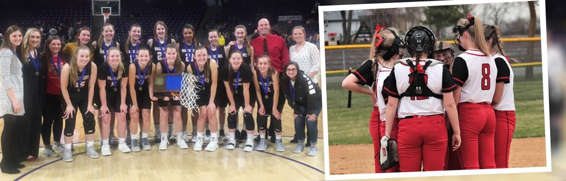 Girls Basketball & Softball